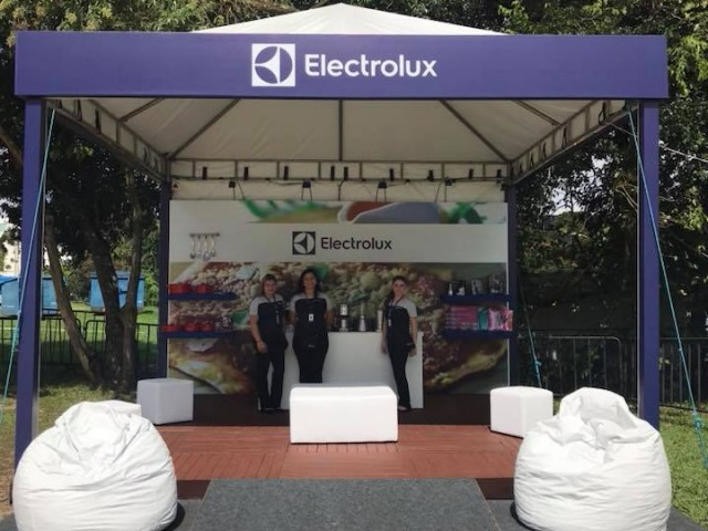 Stand Electrolux Gastronomix 2018